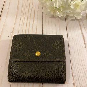 Louis Vuitton monogram trifold compact wallet